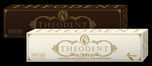 Theodent Classic and Theodent 300 toothpaste
