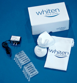 Whiten personal teeth-whitening system