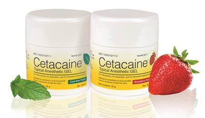 Cetacaine topical anesthetic gel