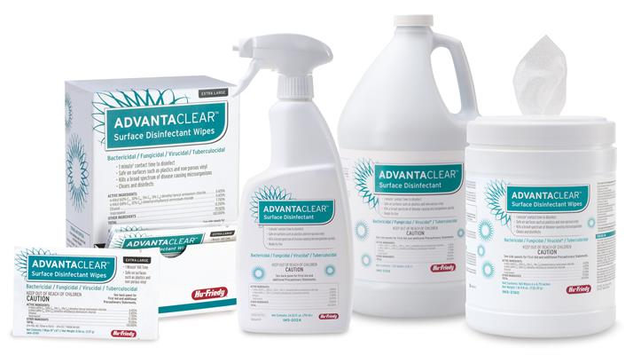 AdvantaClear surface disinfectant