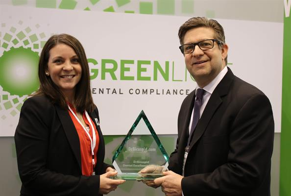 Hu-Friedy won the Dental Excellence Award for the Best New Infection Control Product for its GreenLight Dental Compliance Center