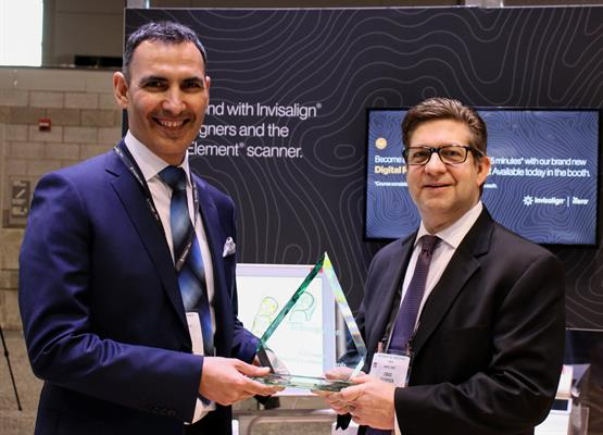 Best New Diagnostic/Imaging Device: The iTero Element 2 intraoral scanner from Align Technology