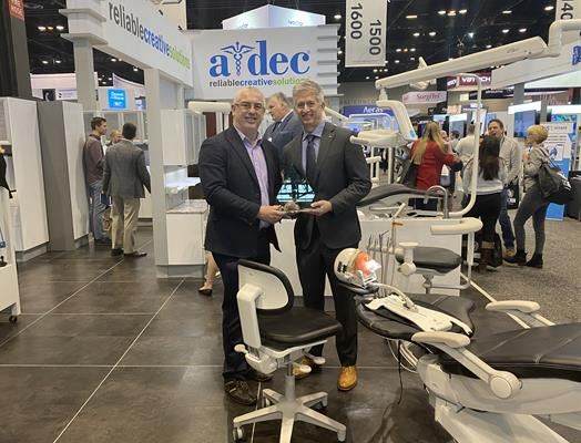 Best New Dental Equipment Product: A-dec 500 chair and delivery system, A-dec