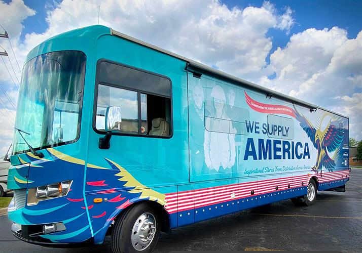 We Supply America Project bus