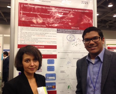 Sukirth Ganesan and Purnima Kumar, PhD, DDS
