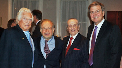 Drs. Leonard Linkow, Victor Sendax, Jack Wimmer, and Ronald Bulard