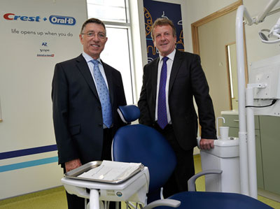 Tony Clough, BDS (right), and Paul Warren, DDS